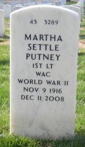GG putney gravestone